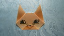 Origami facile : Chat
